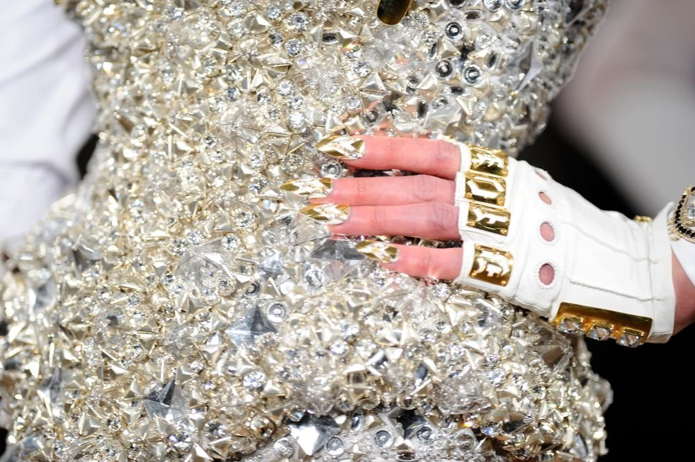 <p>CND created 20 distinct looks for The Blonds.</p>