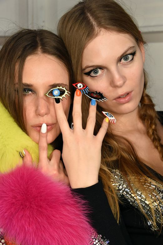 <p>Over 200 hours of production went in to the CND nails for Libertine</p>