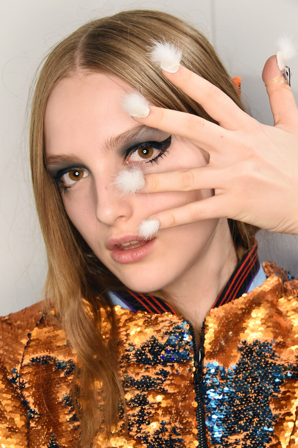 <p>CND for Libertine. Nails by Lauren Wireman</p>