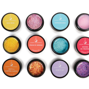 Surf City Glitter and Color Gel Collection