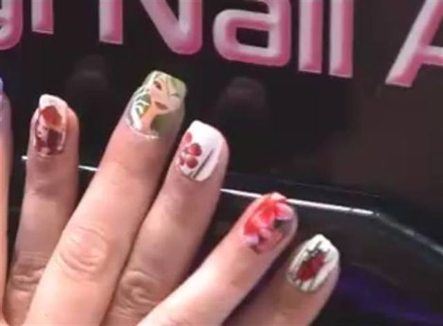Digital Nail Art Printer Machine Demo by www.diginailart.com