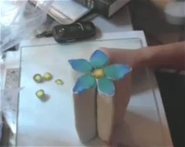 Making A Flower Cane In Polymer Clay Style Nails Magazine