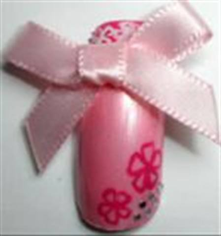 Pink Prom Nails