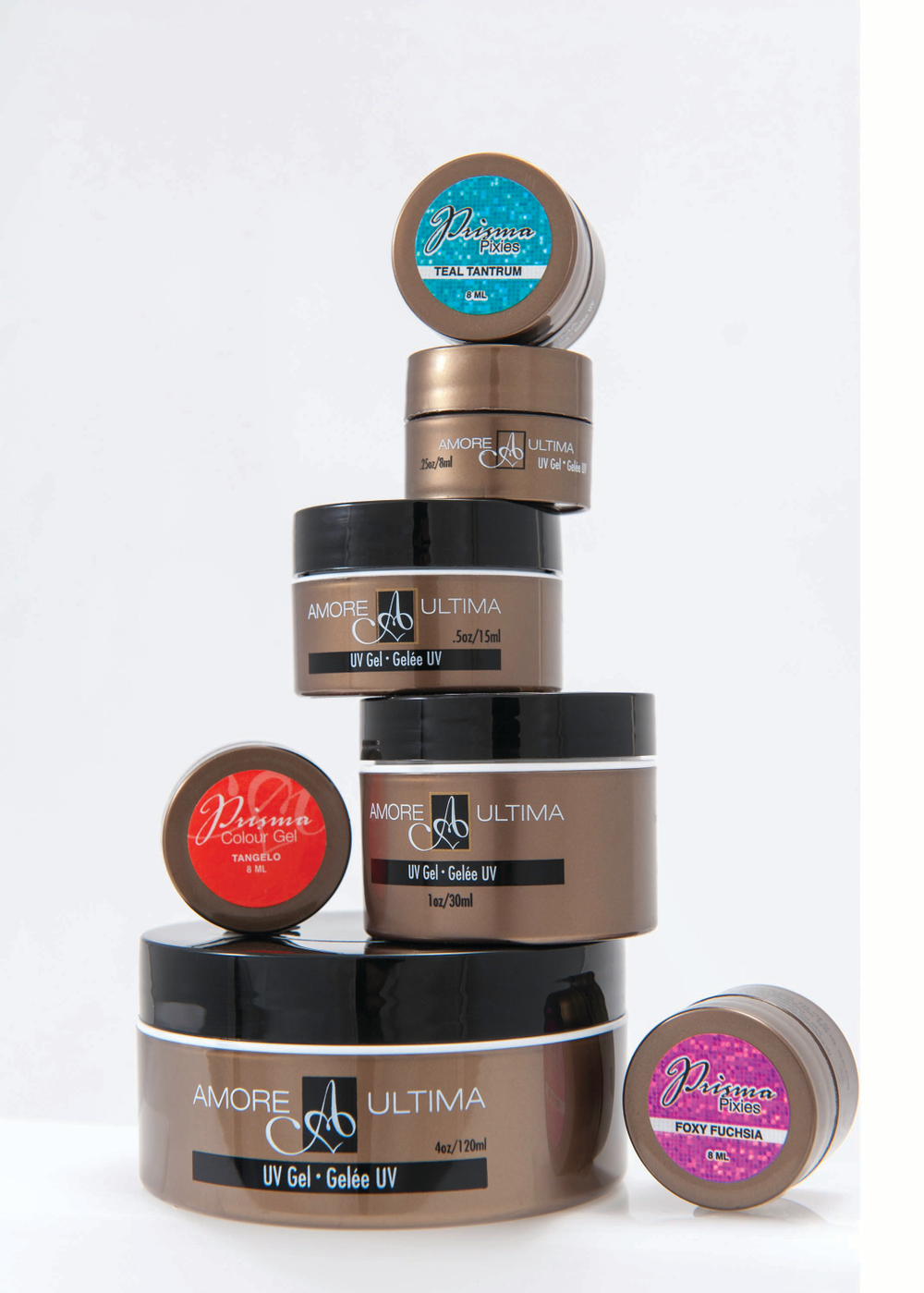 """<p><a href=""""http://www.amoreinternational.com/"""">Amore </a>Ultimate Gel Nail System is a line of high performance hard gels that don&rsquo;t require bonding and deliver thin, flexible, non-yellowing nails. All Amore components can stand alone or work together for customized nail looks.</p>"""