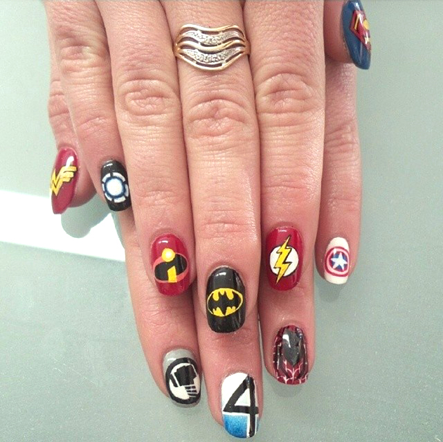 """<p>Nails by <a href=""""http://instagram.com/angie_heliopoulos"""">Angie Heliopoulos</a></p>"""