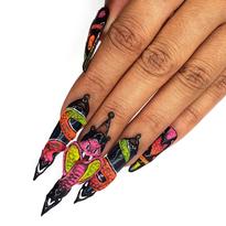 NTNA S. 6 Challenge 8: King Cobra Nail Art (Ashton)