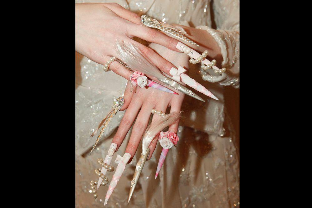 <p>Nails by Sarah Elmaz</p>