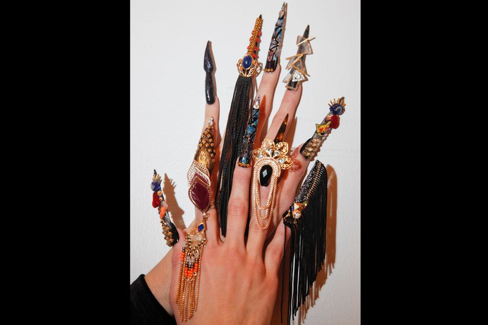 <p>Nails by Winnie Huang</p>