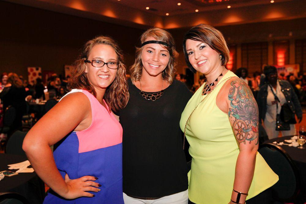 <p>Morgan Baker, Rachel Boring, and Amiee Belanger</p>
