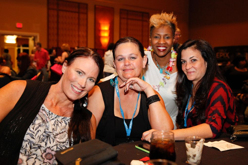 <p>Paula Davies, Lisa Carver, Tiffany Carter, and Ann Marie Sherkus</p>