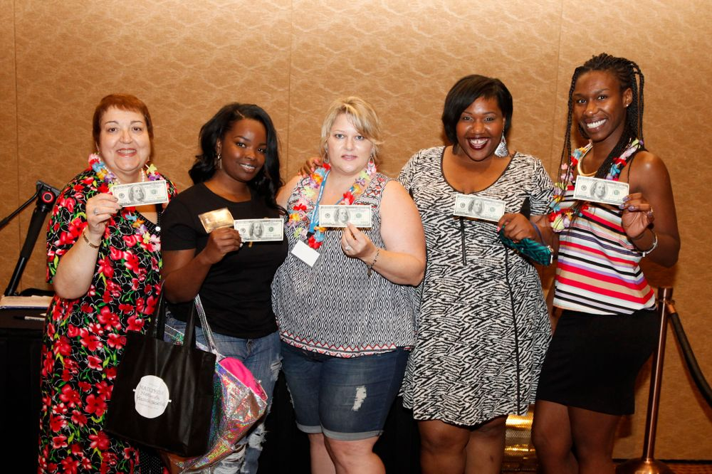 <p>Our five grand prize winners received $100 each to spend at Premiere Orlando.</p>