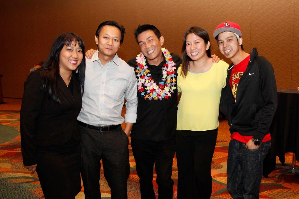 <p>Amy Oung, Tan Nguyen, Kelvin St. Pham, Kim Pham, and Robert Nguyen</p>