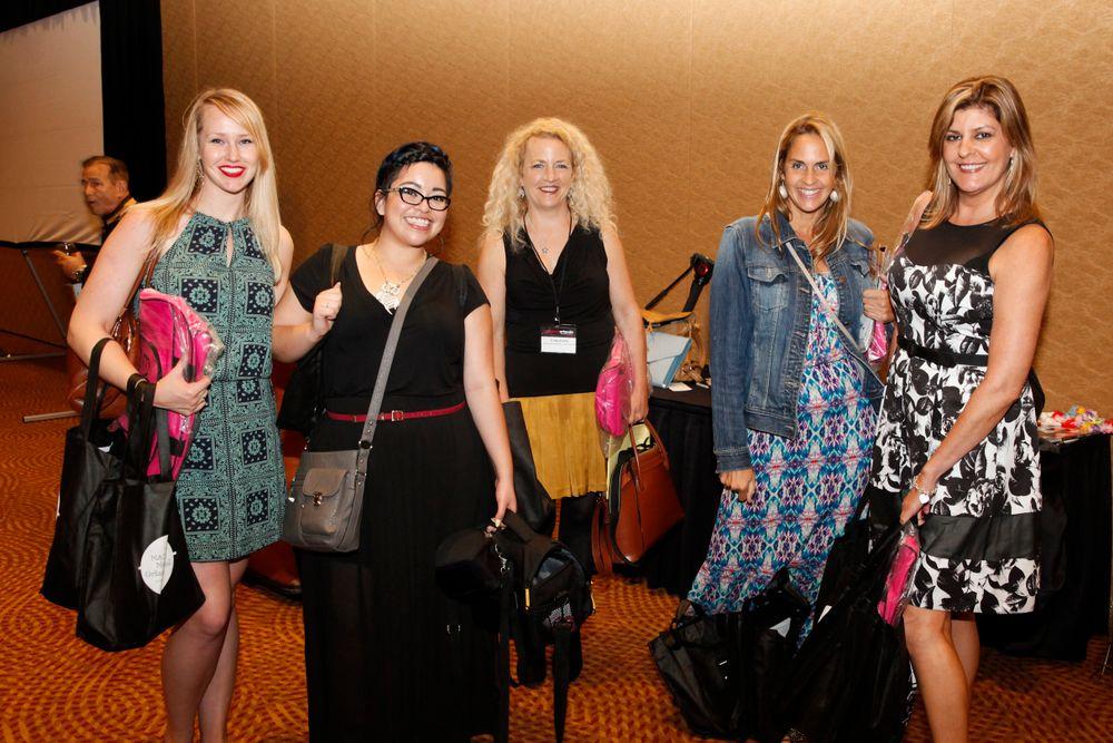 <p>NAILS' Shannon Rahn, Sigourney Nu&ntilde;ez, Erika Kotite, Mary Baughman, and Tracy Rubert</p>