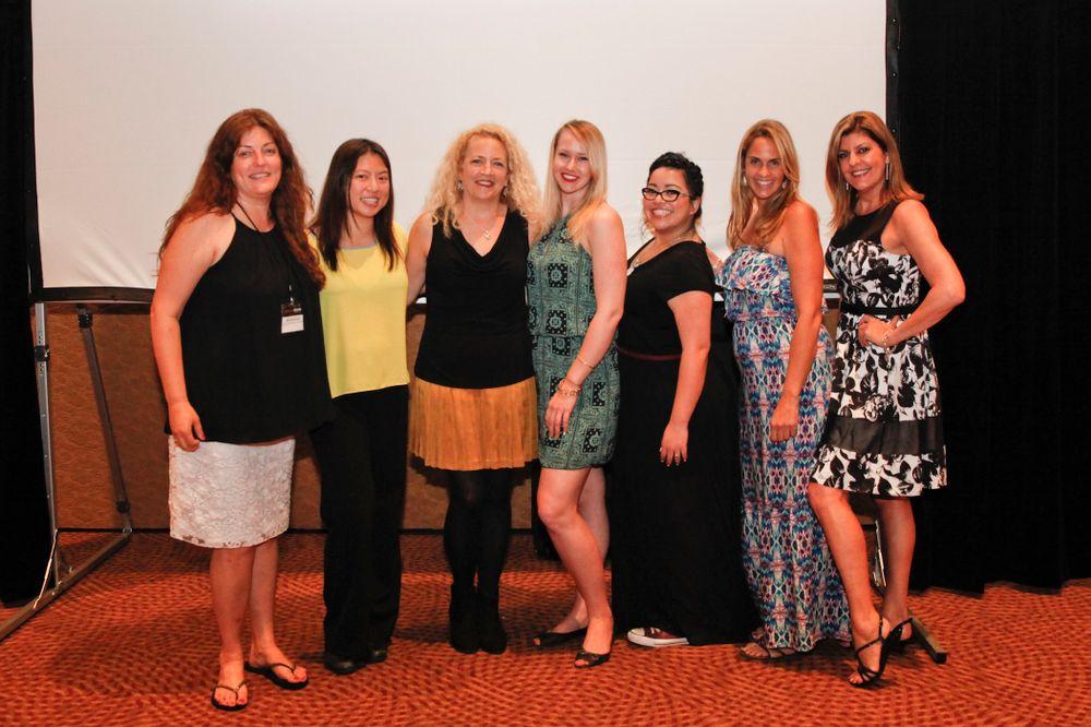 <p>The NAILS team: Michelle Mullen, Kim Pham, Erika Kotite, Shannon Rahn, Sigourney Nu&ntilde;ez, Mary Baughman, and Tracy Rubert</p>