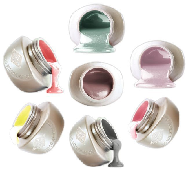 """<p><a href=""""http://www.biosculpturegel.com"""">Bio Sculpture</a>&rsquo;s new Hollywood Color Collection, inspired by the glitz and glamour of 1950s Hollywood, features seven gel colors named after beloved icons like Marilyn Monroe and Audrey Hepburn. This chip-free strengthening treatment cures under LED or UV lights and can be used for extensions that last up to four weeks. The gels soak off in 10 minutes.</p>"""
