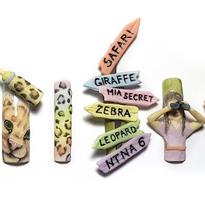 NTNA S.6 Challenge 2: Cake-Inspired Safari Nail Art (Bojana)