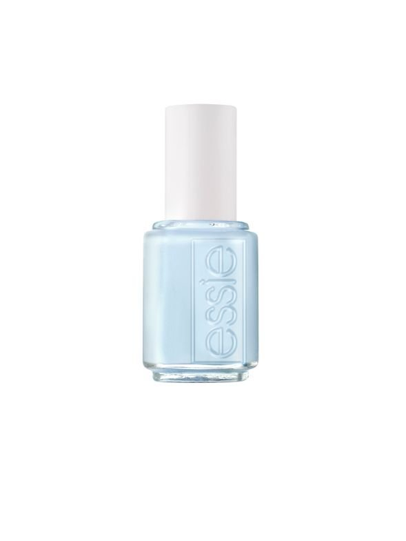 "<p><a href=""http://www.essie.com/"">Essie </a>Borrowed &amp; Blue</p>"