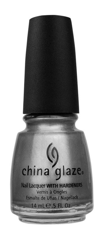 <p><strong>China Glaze</strong> Awaken is a chrome blue-grey.</p>
