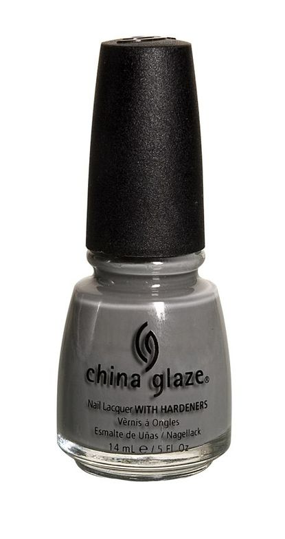 <p><strong>China Glaze</strong> Recycle is a brown-based grey cream.</p>