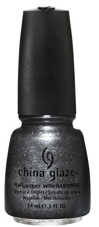<p><strong>China Glaze</strong> Stone Cold is a matte slate grey with shimmer.</p>
