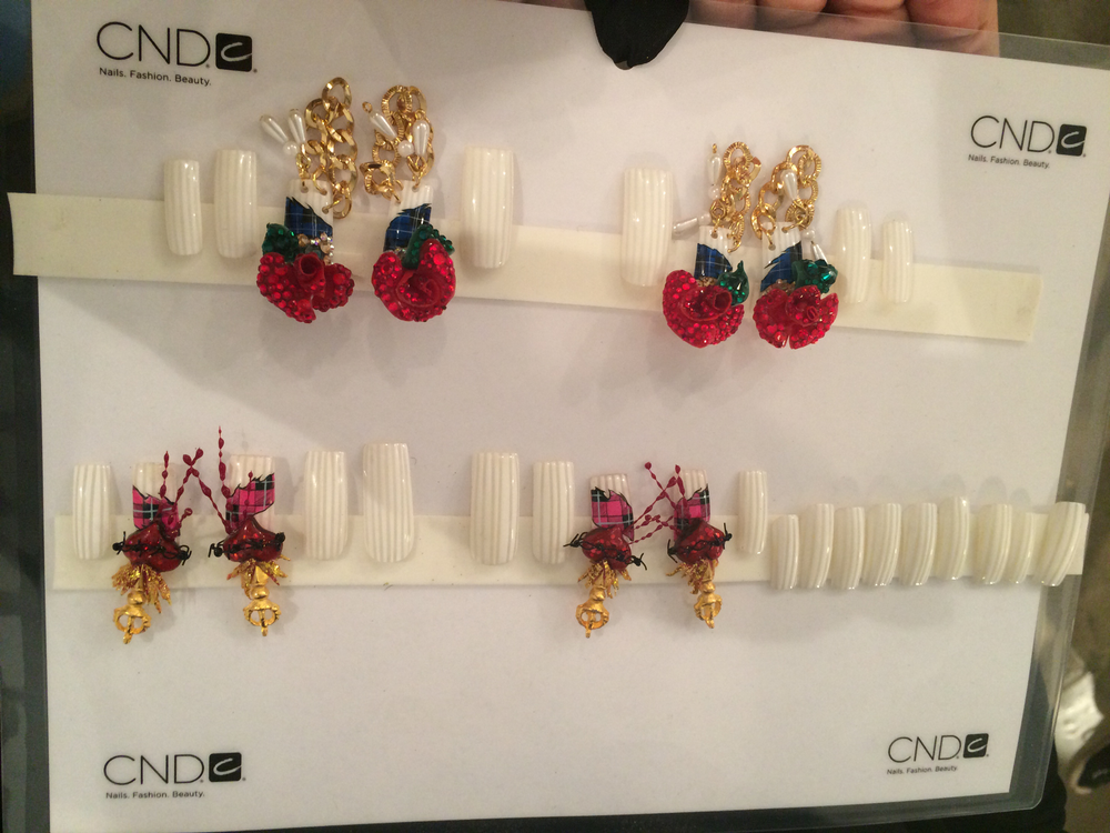 <p>Nails for the Blonds created by Lauren Wireman.</p>