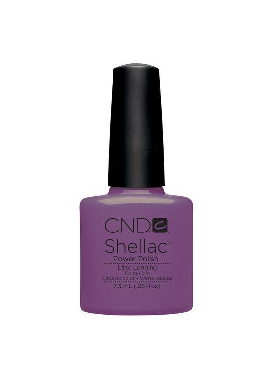<p>CND Shellac Lilac Longing</p>