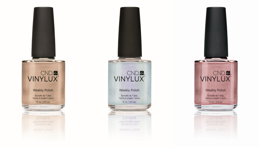 """<p>Change clients&rsquo; manicures every week with <a href=""""https://www.cnd.com/"""">CND </a>Vinylux. A self-adhering Color Coat eliminates the need for base coat. Weekly Top Coat becomes more durable with exposure to natural light due to ProLight Technology. Vinylux dries in just 8.5 minutes, providing week-long wear. Remove with acetone or CND Nourishing Remover.</p>"""
