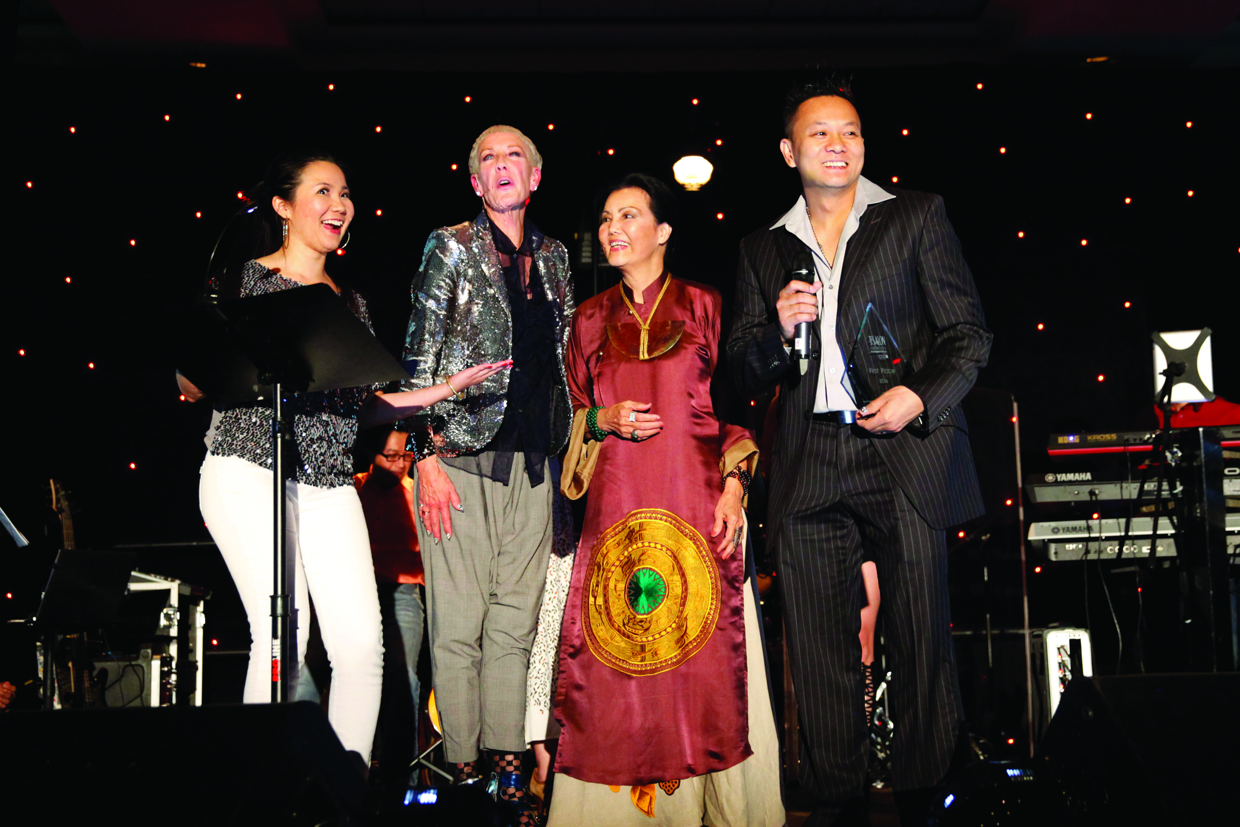 VietSALON and CND Honor Nail Artistry Competition Winner at Premiere Orlando