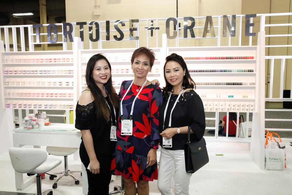 <p>Tortoise + Crane's Dewey Kiem, Dana Nguyen, and Julie Ngo</p>