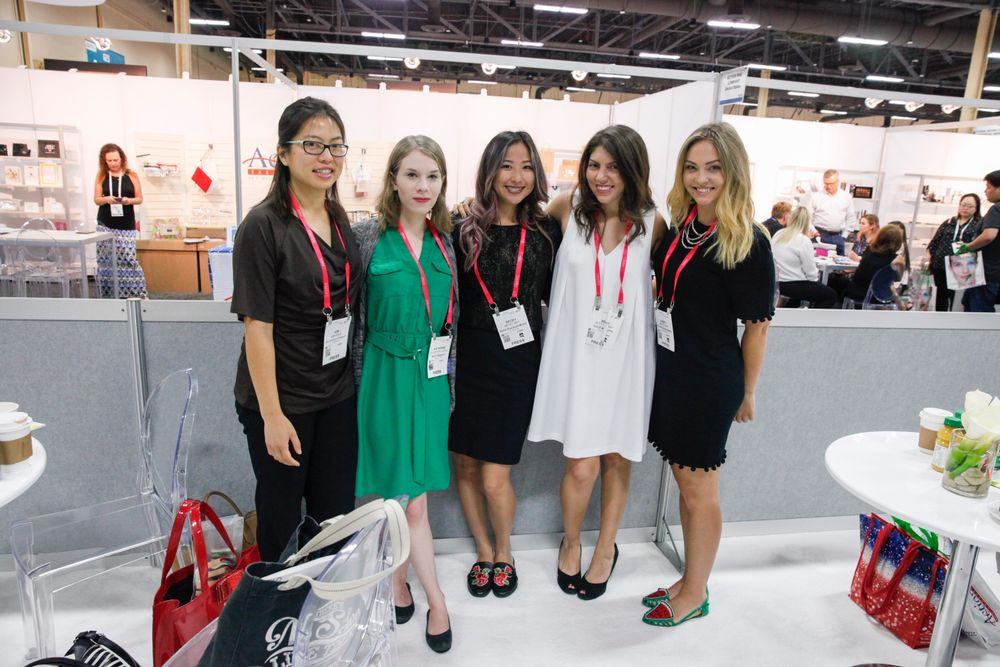 <p>The editors of NAILS &amp; VietSalon: Kim Pham, Katherine Fleming, Becky May, Beth Livesay, and Nancy Kirk</p>