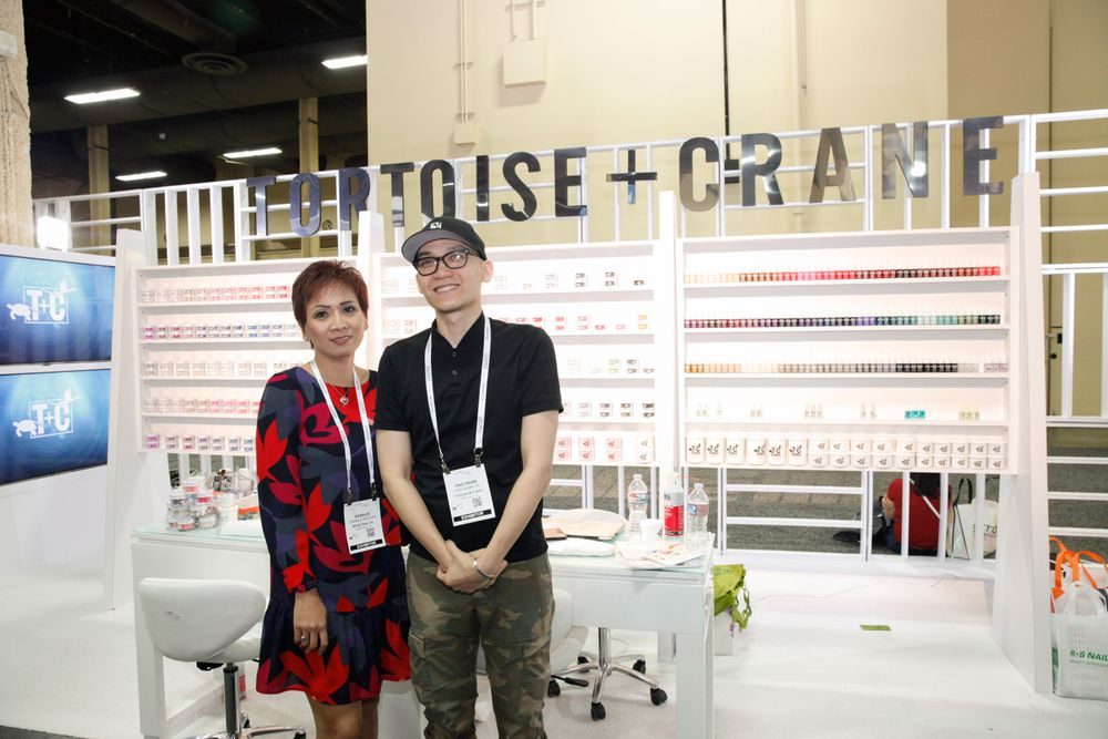 <p>Tortoise + Crane's Dana Nguyen and Hao To</p>
