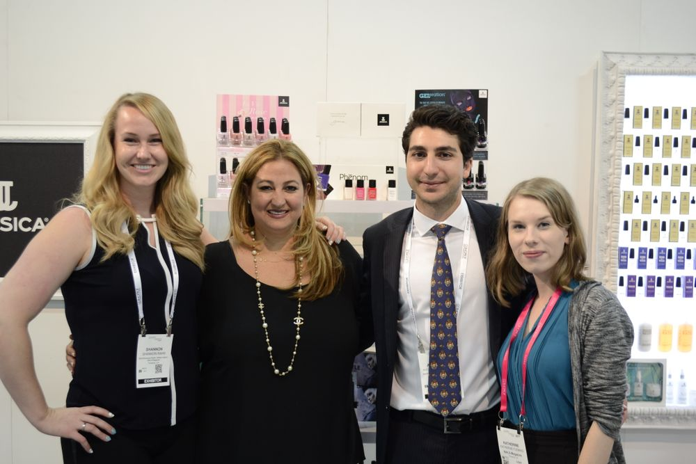 <p>Shannon Rahn, Nadia Shamsi &amp; Alexander Sarkissian of Jessica, and Katherine Fleming</p>