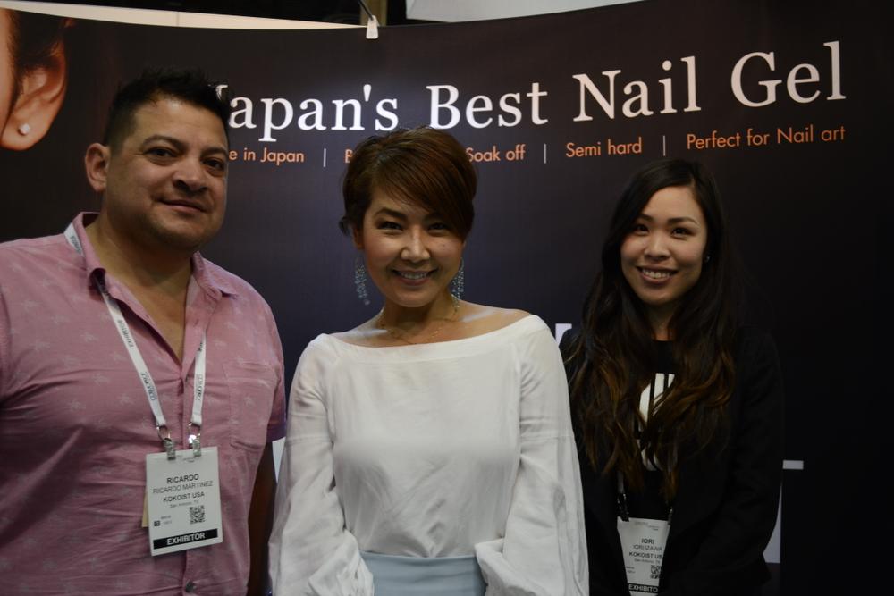 <p>Ricardo Martinez, Koko Kashiwagi, and Iori Iwaza of Kokoist</p>