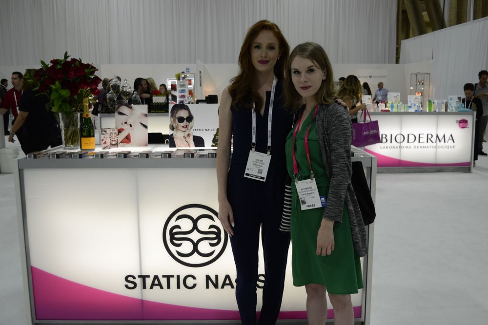 <p>Alexis Irene of Static Nails and Katherine Fleming</p>