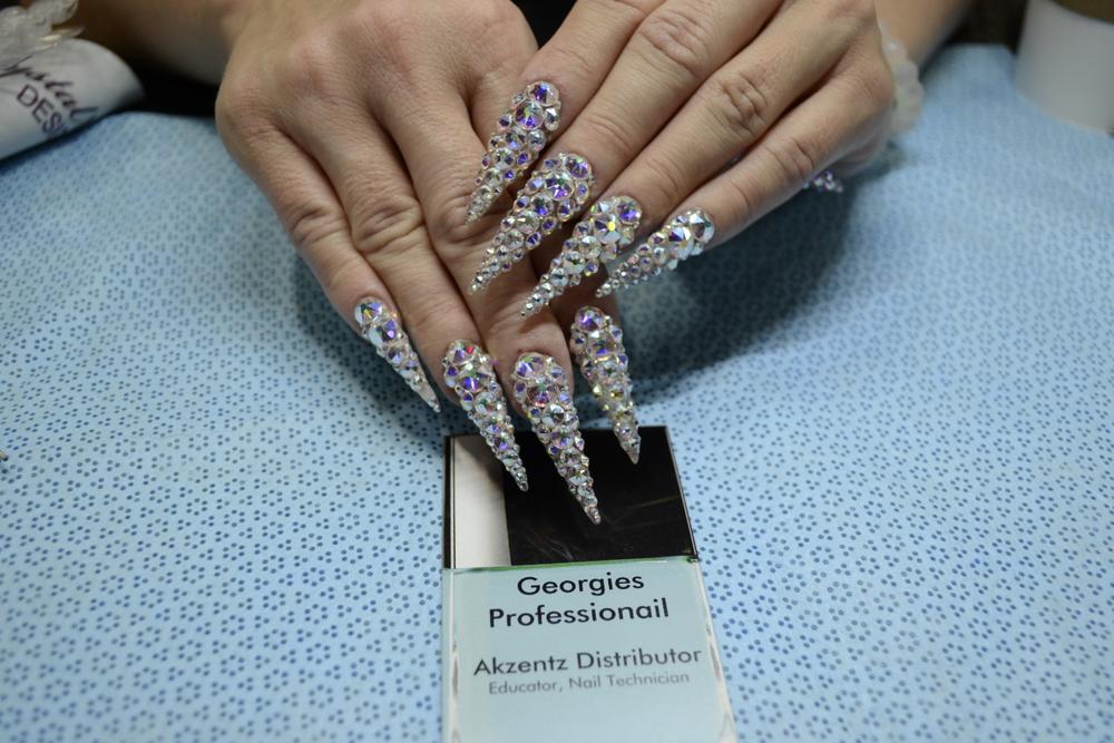 <p>Amanda Bowen's nails</p>