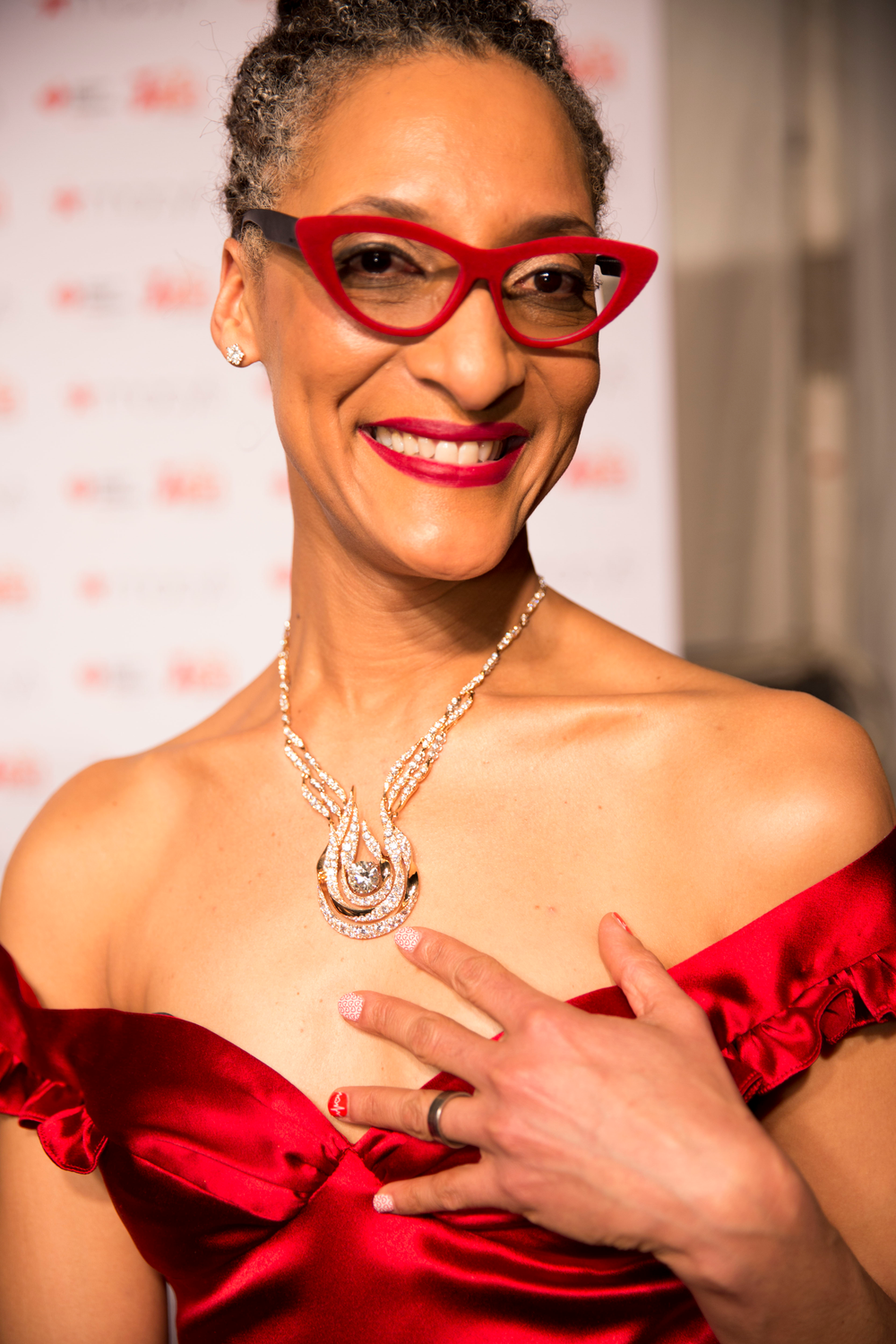 <p>Carla Hall in Jamberry.</p>