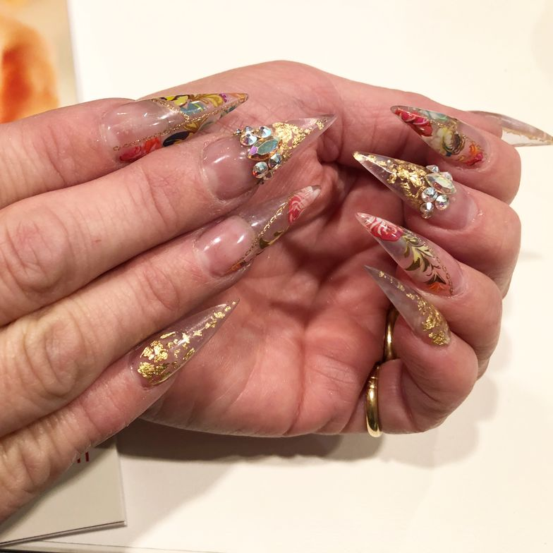 <p>Nails by Cassandra Clark</p>