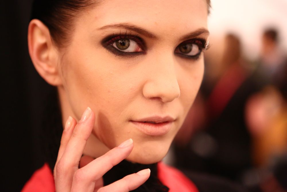 <p>With all the chrome yellow and shocking pink, Essie&rsquo;s First Base, Mademoiselle, and Good to Go were the go-to shades at the Chado Ralph Rucci show.</p>
