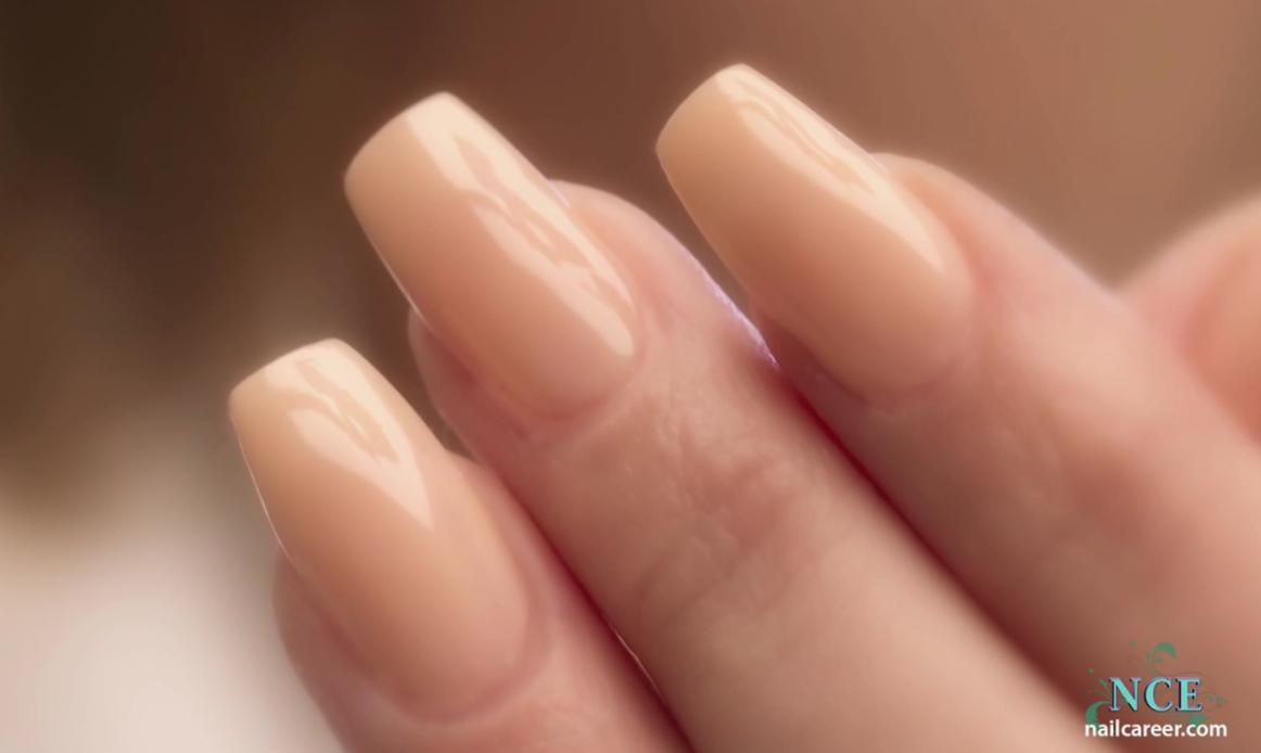 Coffin/Ballerina Shaped Nails