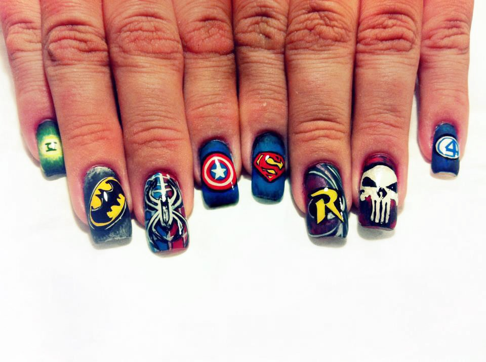 """<p>DC or Marvel &mdash; can't decide? You won't have to with <a href=""""http://instagram.com/max_nguyen_artist"""">Max Nguyen</a>, Bellagio Salon, Lebanon, Tenn.</p>"""