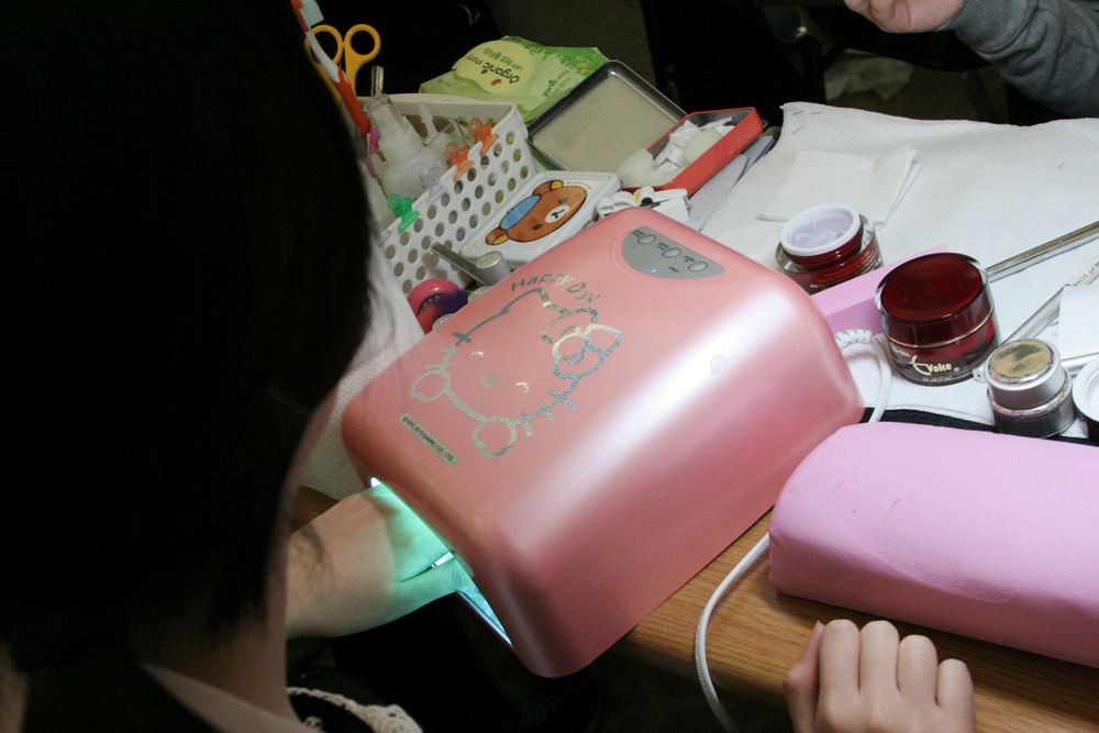 <p>Hello Kitty made her way onto many competition stations.</p>
