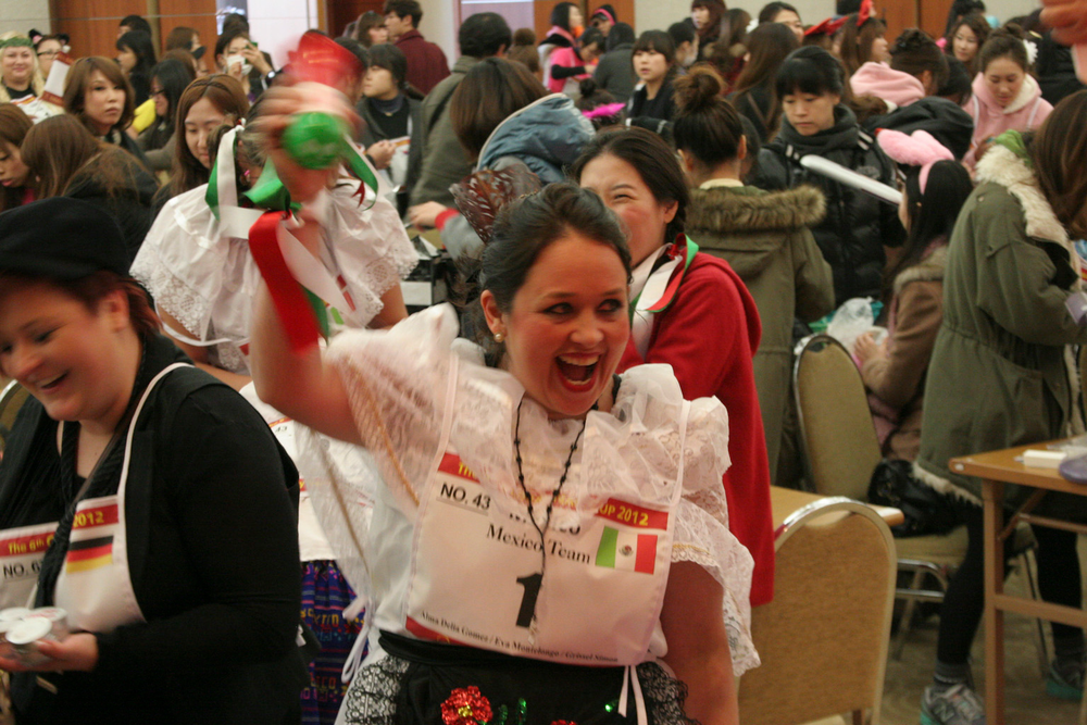 <p>Team Mexico represented in the Team Relay competition.</p>