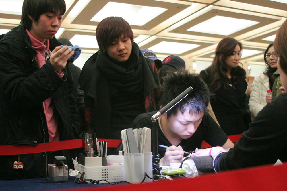 <p>Tatsuya Adachi competed in the Top Artist competition.</p>