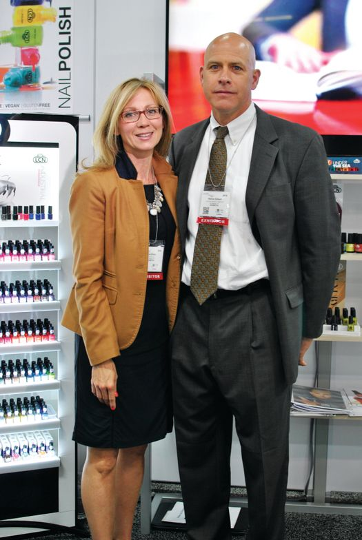 <p>Tina and Patrick Gilbert of LCN discussed the brand's Barefoot success and return to anti-aging treatments.</p>
