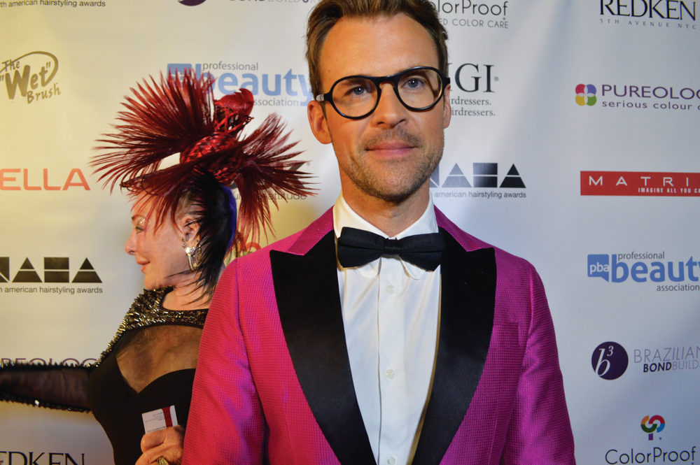 <p>Brad Goreski hosted this year&rsquo;s North American Hairstyling Awards. The famous celebrity stylist paused to tell NAILS, &ldquo;You don&rsquo;t have the complete outfit until you&rsquo;ve got the nails.&rdquo;</p>