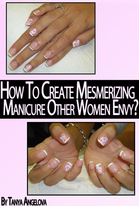 <p><em>Nail Art Techniques: How to Create Mesmerizing Designs of Your Manicure Other Women Envy</em> by Tanya Angelova</p> <p>Written by a professional nail tech, this digital-only book is a step-by-step guide on how to do classic French manicures and acrylic decorations that will make your nails stand out. You&rsquo;ll find a lot of images here, not just theory or plain text.</p>