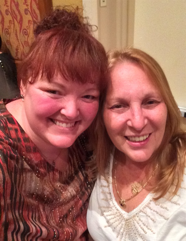 <p>Holly Schippers and Debbie</p>