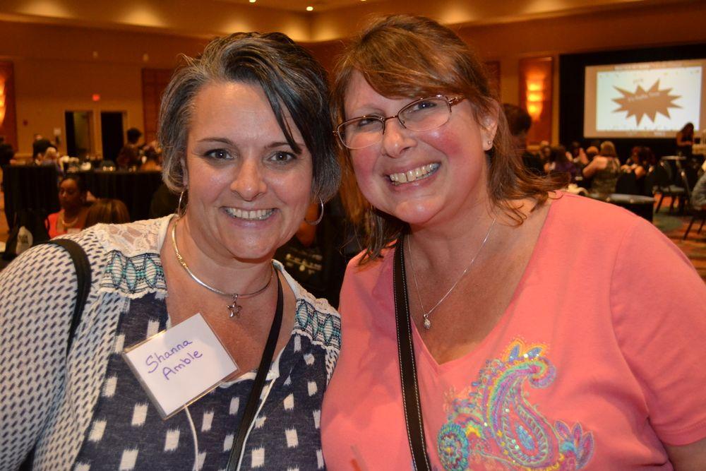 <p>Shanna Amble, Tracy Rapart</p>