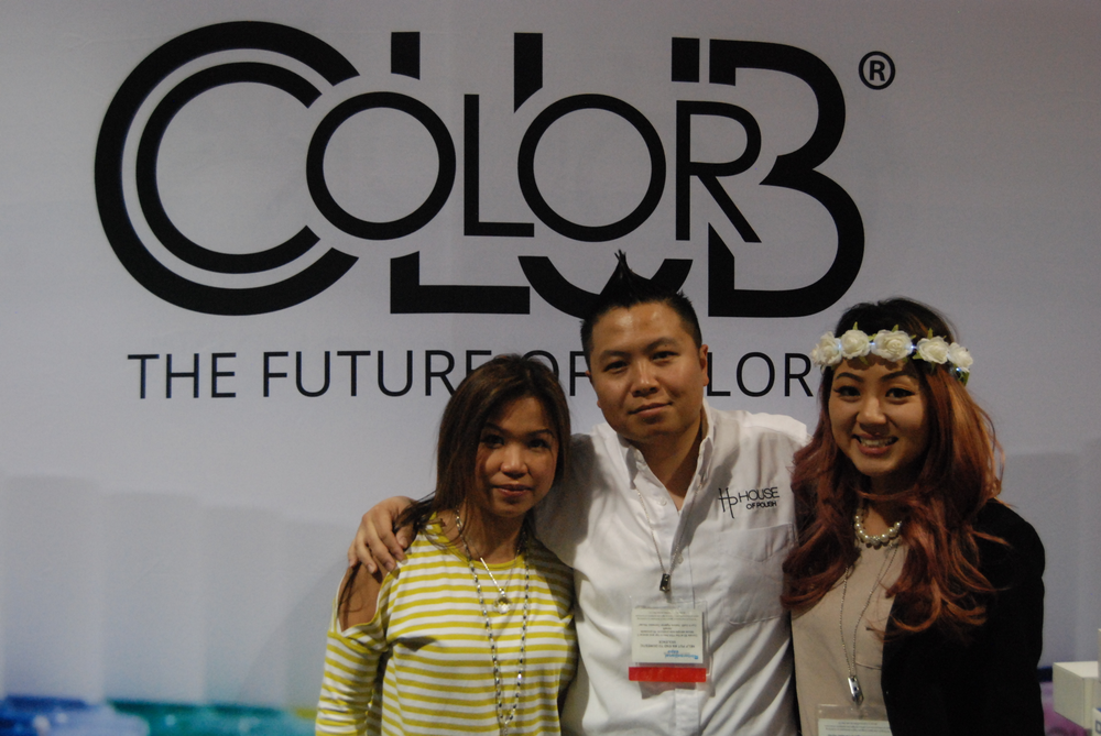 <p>Skyline Beauty Supply Cathy Cheong, David Ngo, and Jean Kuan</p>