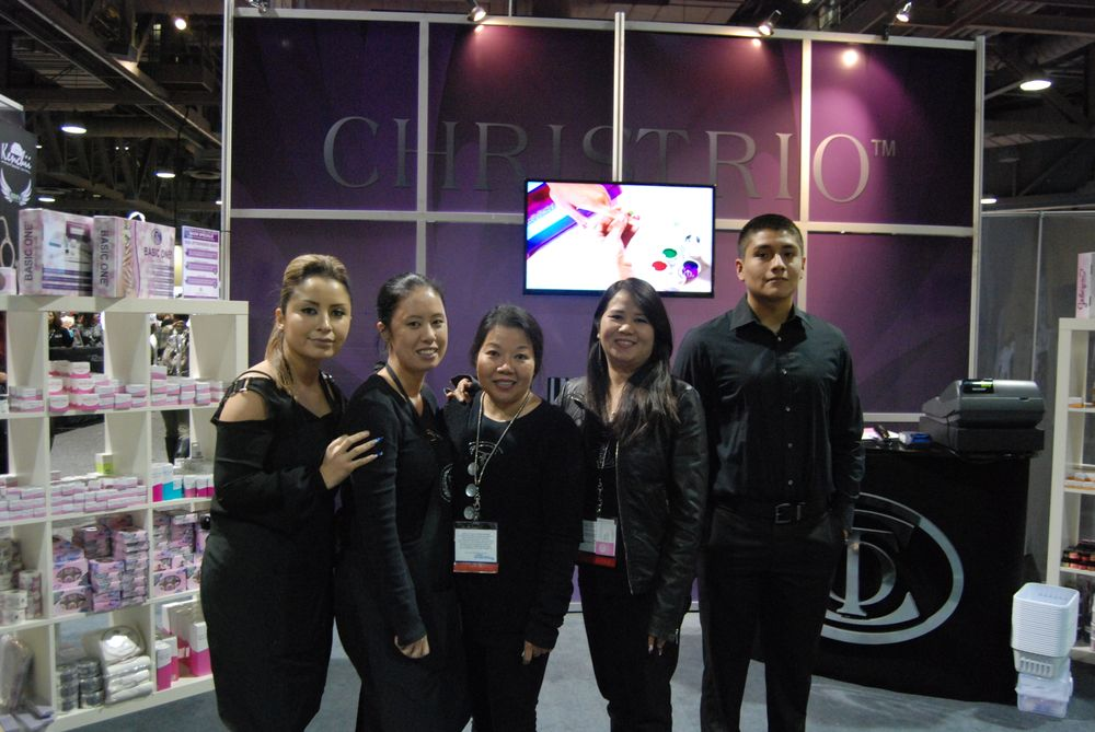<p>Christrio team from left to right:&nbsp;Shelley Perez, Mya Vo, Ann Nguyen, Jenny Tran, David Aguero</p>